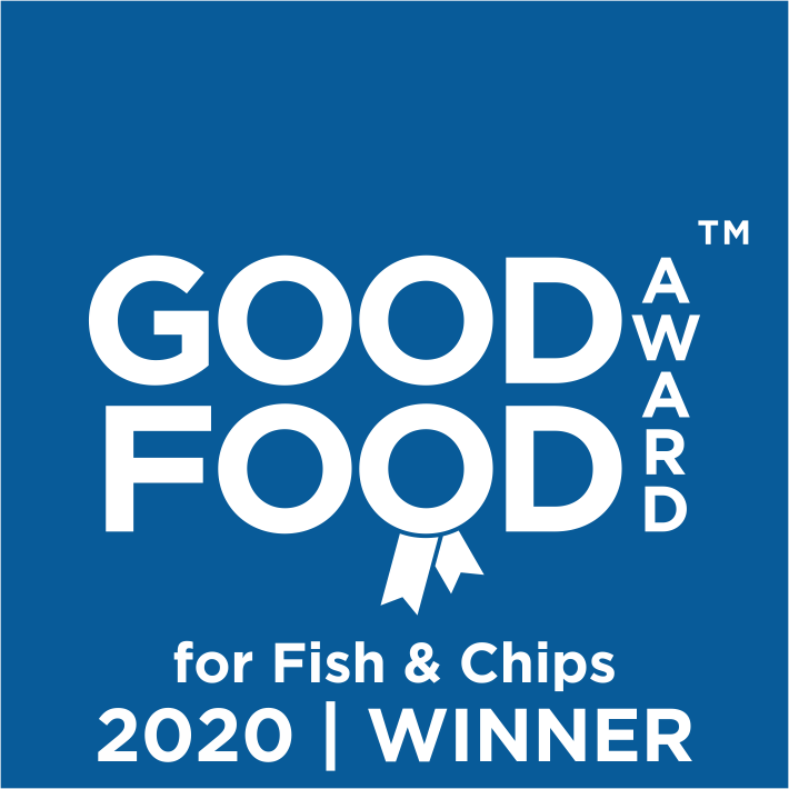 Good Food Award Winner for Fish and Chips 2020