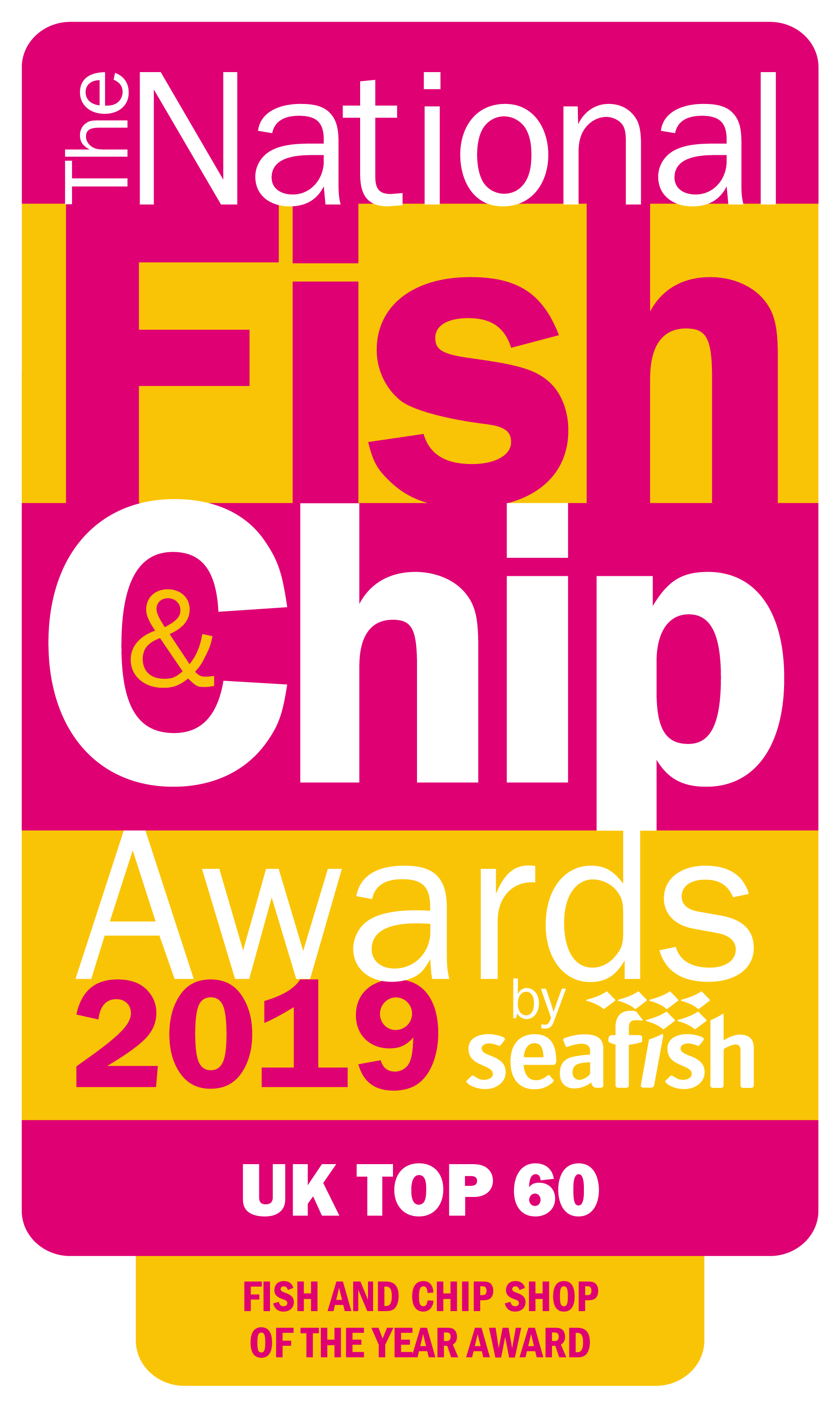 NFCA19 Top 60 Logo - Fish and Chip Shop of the Year Award