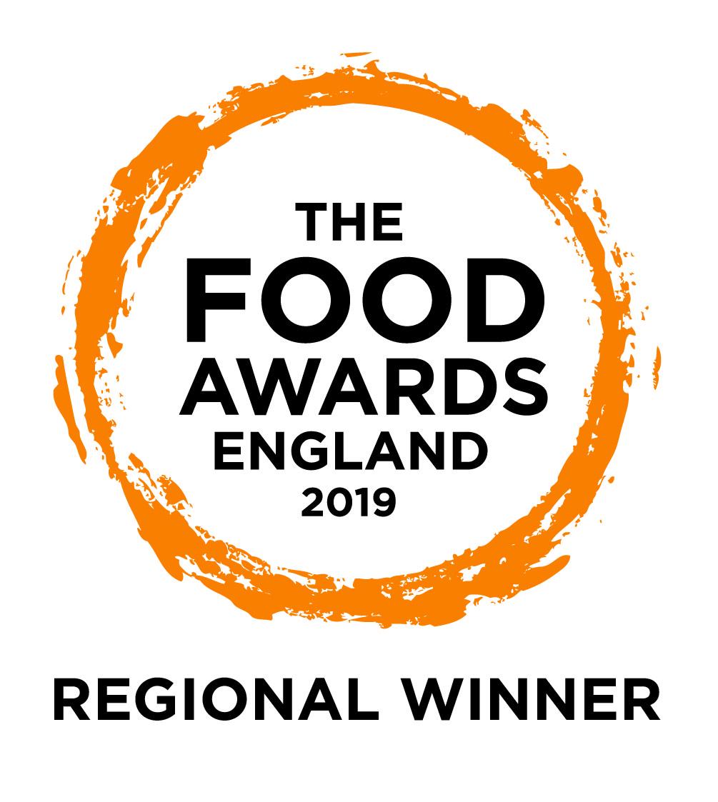 Regional Winner - The Food Awards England 2019